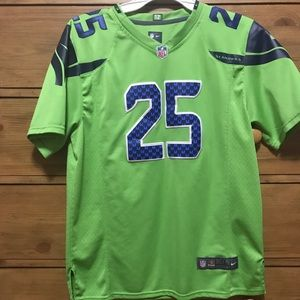 premium selection d94bf 63ca3 Richard Sherman Seattle Seahawks color rush jersey